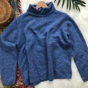 L.L. Bean • Merino Wool Turtleneck Sweater